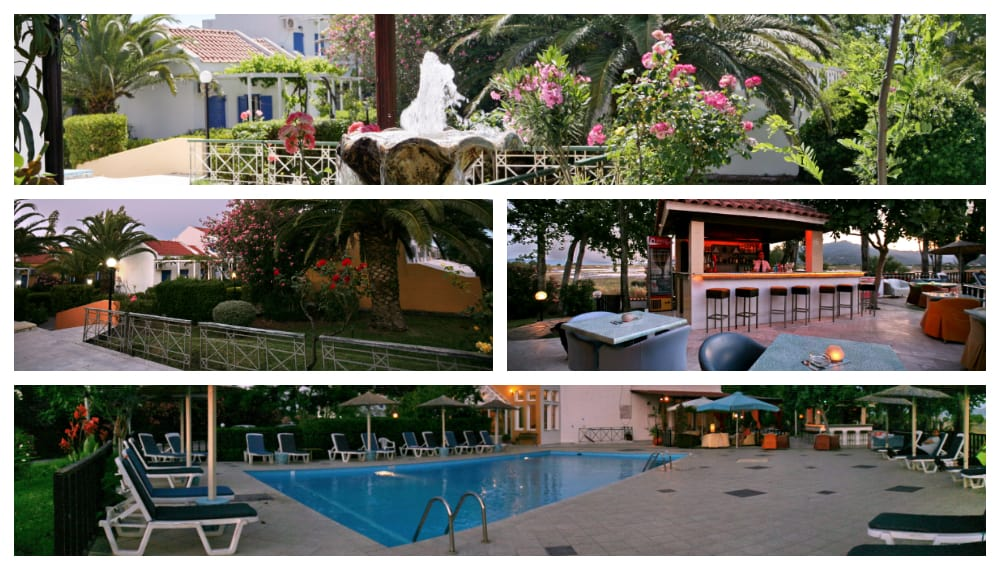 Aegeon Hotel Collage