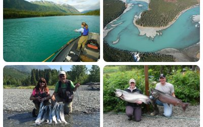 Fishing on the River Kenai