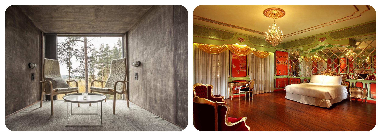 Hotel Design Minimalism vs Maximalism