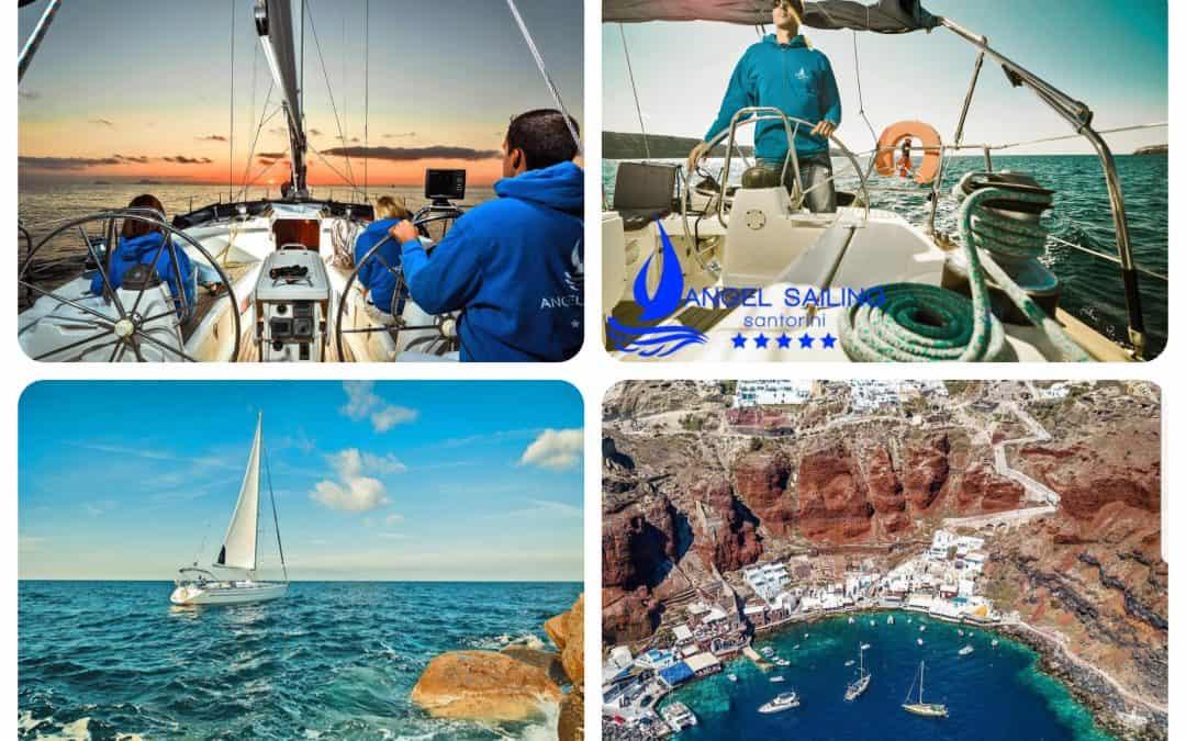 Angel Sailing Santorini | Unique Experience | South Aegean – Greece
