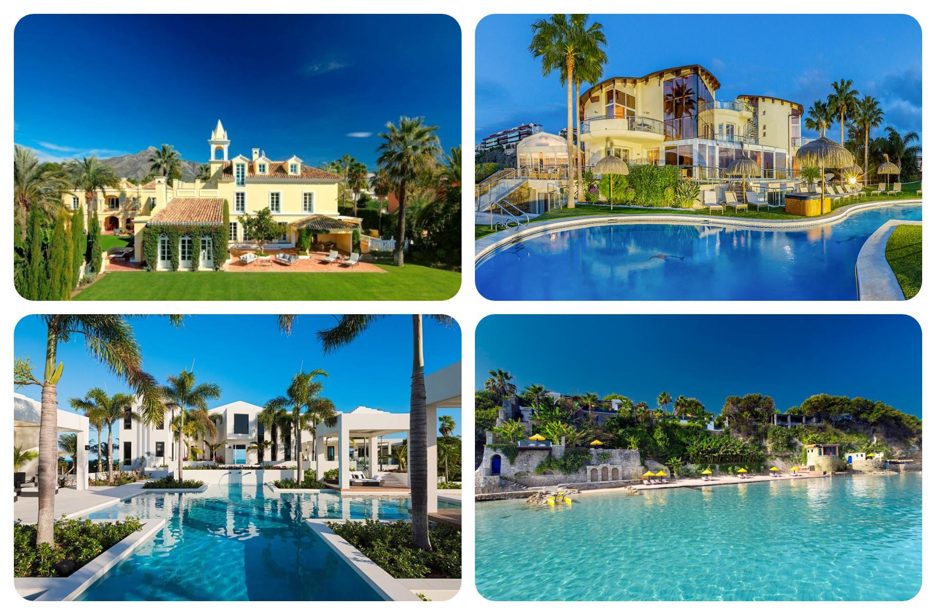 luxury villas europe