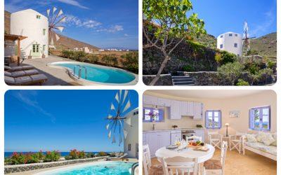 Windmill Villas | Unique Villas | Cyclades – Greece