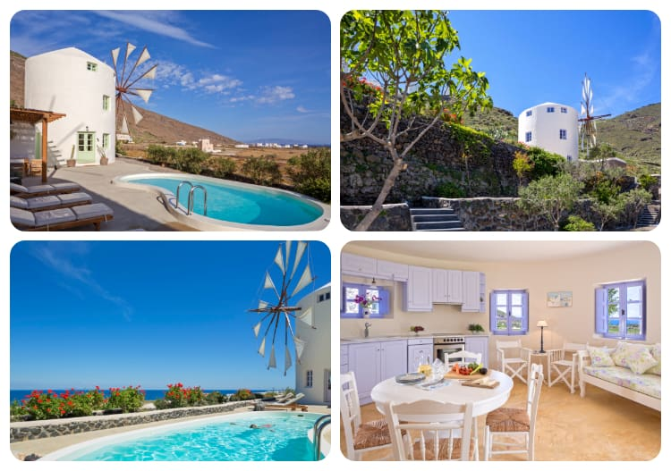 Windmill Villas | Unique Villas | Cyclades – Greece