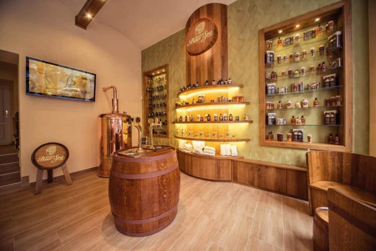 Reception of Original Beer Spa