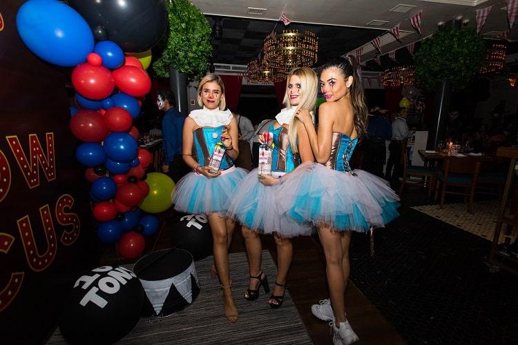 Dancers at Doble B Bar