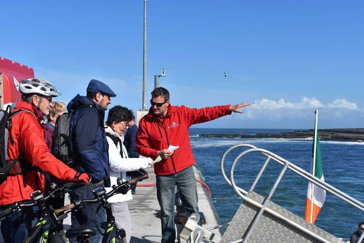 Boarding the Doolin Ferry