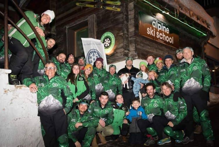 Zermatt ski school team